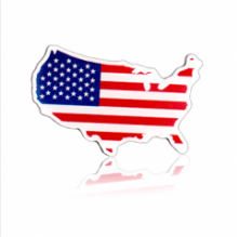 Stock American Flag Lapel Pins (S122)