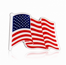 Stock American Flag Lapel Pins (S123)