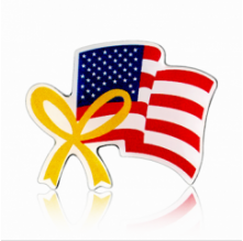 Stock American Flag Lapel Pins (S124)