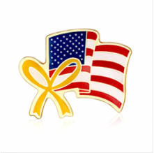 Stock American Flag Lapel Pins (S130)