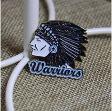 Custom Enamel Pins for Indian Warriors