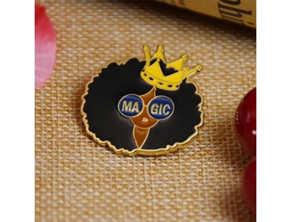 Custom Pin Soft Enamel for Magic Girl
