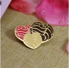 Enamel Pin for Heart Shape