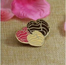 Hard Enamel Pins for Broken Heart