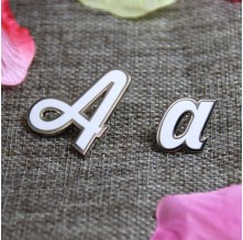 Lapel Pins for Letter A