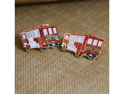 Soft Enamel Pins for Bus