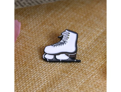 Soft Enamel Lapel Pins for Skating Shoes