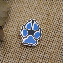 Hard Enamel Pins for Blue Animal Claw