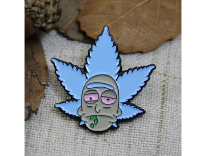Soft Enamel Pins for Leaf Man