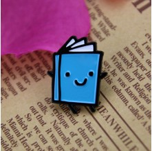 Soft Enamel Personalized Pins for Book