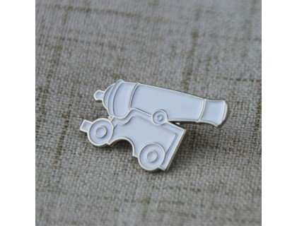 Soft Enamel Custom Pin for Cannon