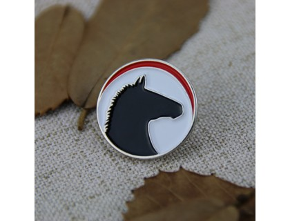 Horse Personalized Pins Soft Enamel Pins