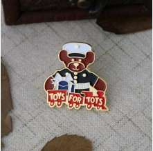 Soft Enamel Lapel Pins for Bear