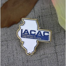 Soft Enamel Pins for IACAC