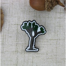 Enamel Custom Pin for Tree