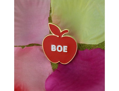 Soft Enamel Lapel Pins for Apple