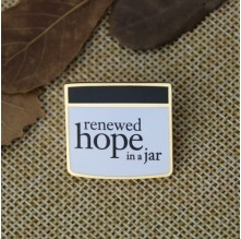 Hard Enamel Pins for Hope
