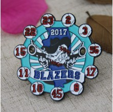 Custom Trading Pins for Baseball Blazers