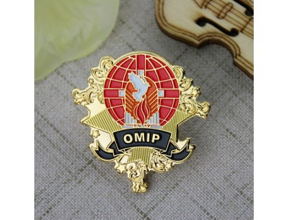 Enamel Pins for OMIP