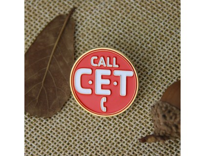 Soft Enamel Pins for Call CET