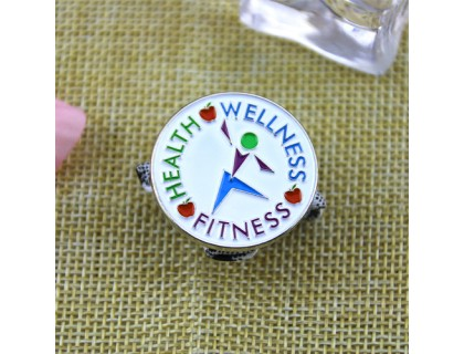 Soft Enamel Pins for Health