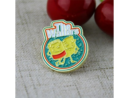 Soft Enamel Custom Pins for Waiters