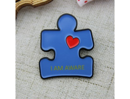 Custom Pins for Aware Puzzle