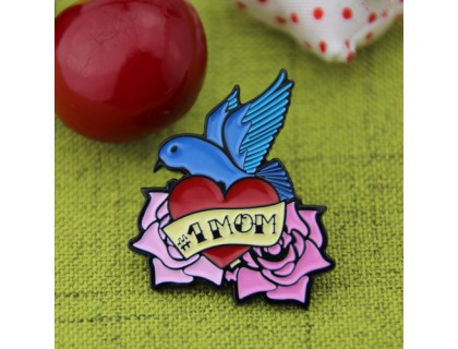 Lapel Pins for Mom