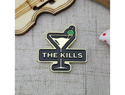Custom Pins for Cocktail Glass