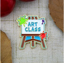 Custom Lapel Pins for Art Class