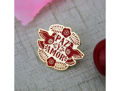 Custom Lapel Pins for Pazy Amor