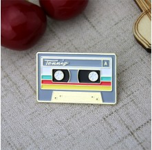 Custom Lapel Pins for Tape
