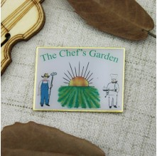 Lapel Pins for The Chef's Garden