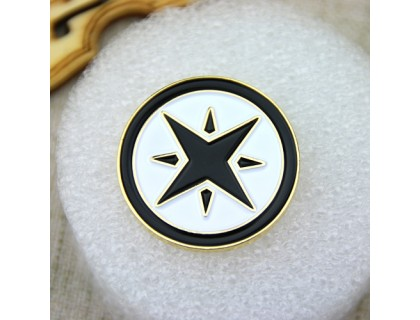Custom Lapel Pins for Hexagram