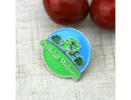 Custom Lapel Pins for Physician Wellness