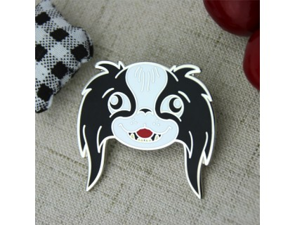 Custom Lapel Pins for Cartoon Dog