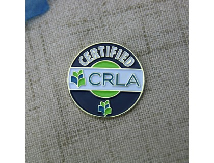 Custom Lapel Pins for CRLA