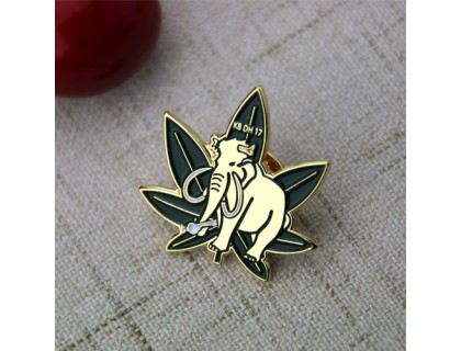 Custom Lapel Pins for Elephant