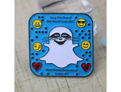 Custom Lapel Pins for Ghost