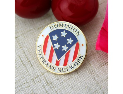 Custom Lapel Pins for Veterans Network