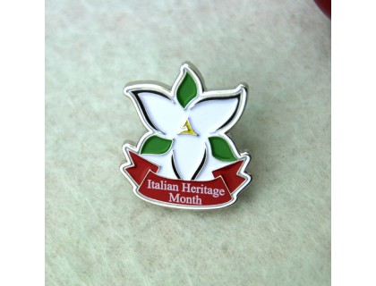 Lapel Pins for Italian Heritage Month