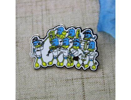 Lapel Pins for Woodpeckers Band