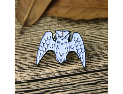 Lapel Pins for White Owl