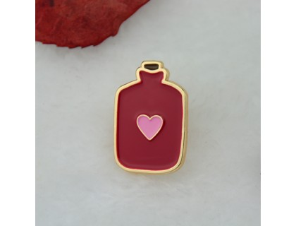Lapel Pins for Heart Bottle