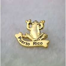 Lapel Pins for Golden Frog