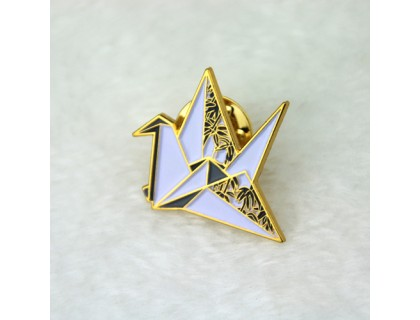 Lapel Pins for Paper Cranes