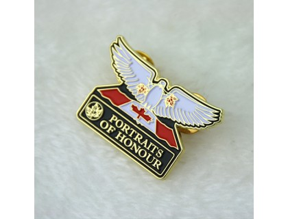 Lapel Pins for Portraits of Honour