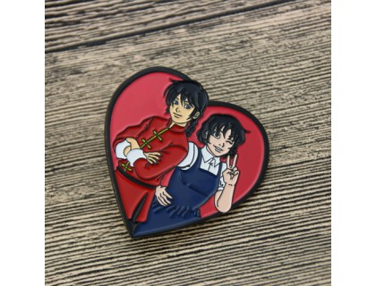 Lapel Pins for Ranma