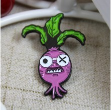 Personalized Pins Soft Enamel for Radish
