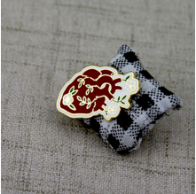 Custom Lapel Pins for Heart